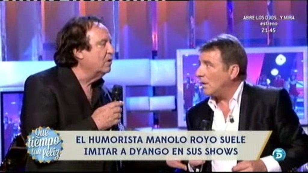 Manolo Royo imita a Diango