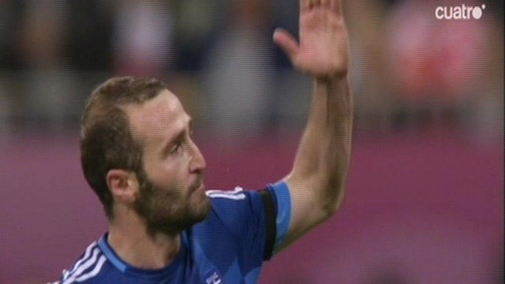 El gol de la triste despedida griega