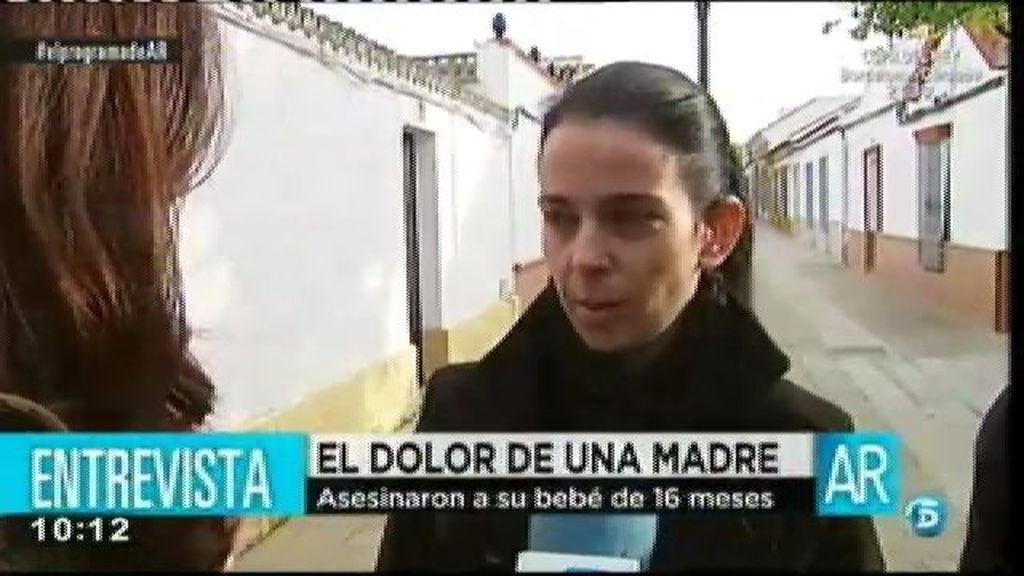 La madre de la bebé asesinada pide la cadena perpétua para el asesino