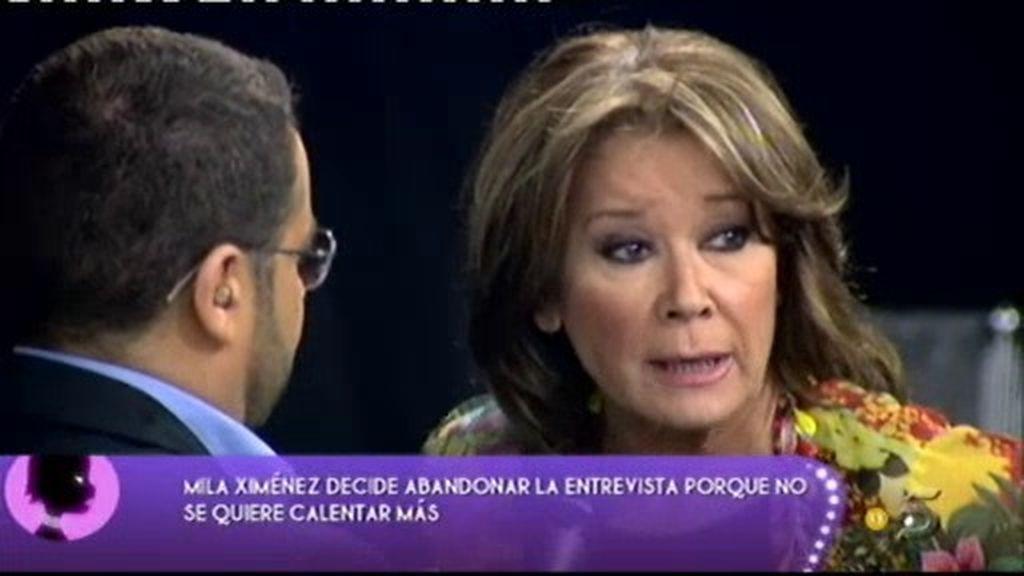 Mila Ximénez estalla de nuevo contra Jaime Ostos