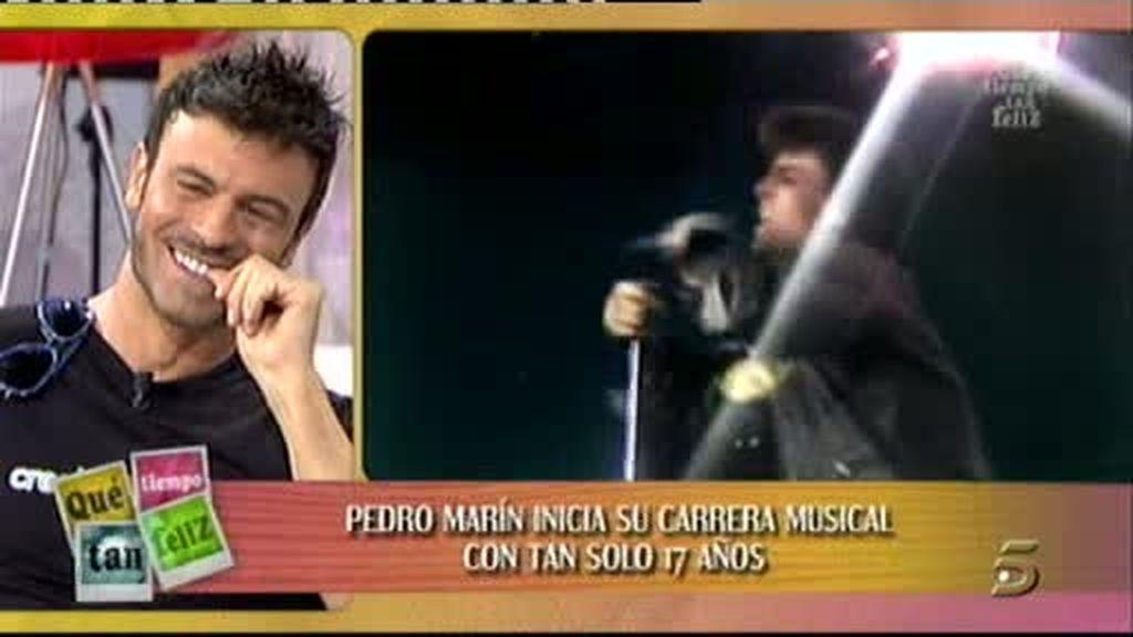 Pedro Marín, sus inicios