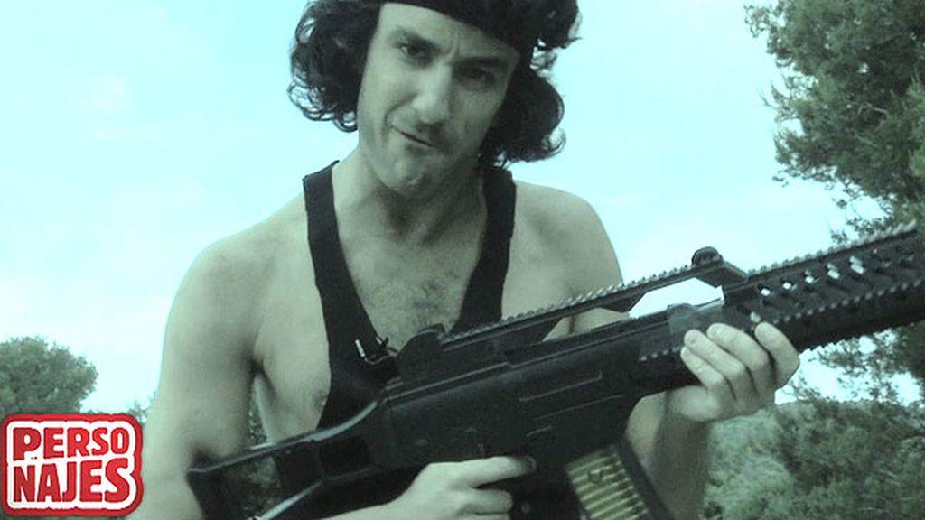 El lado romántico de Rambo