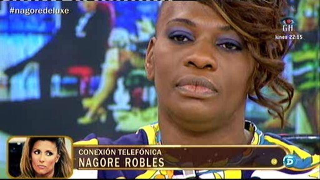 Nagore Robles entra en directo para desmentir las declaraciones de Carolina Sobe