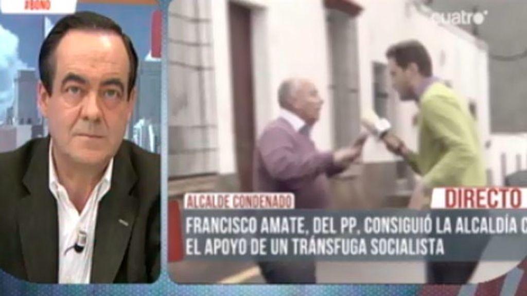José Bono, sobre el alcalde condenado del PP en Enix