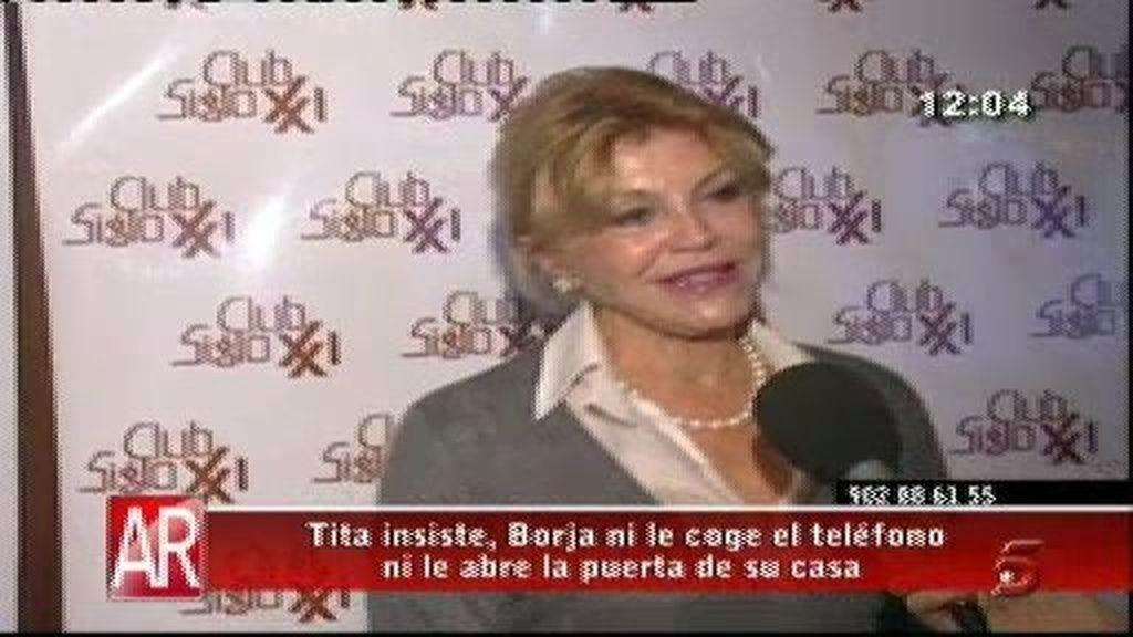 """Tita Cervera: """"Llamo a la puerta y no se me abre"""""""