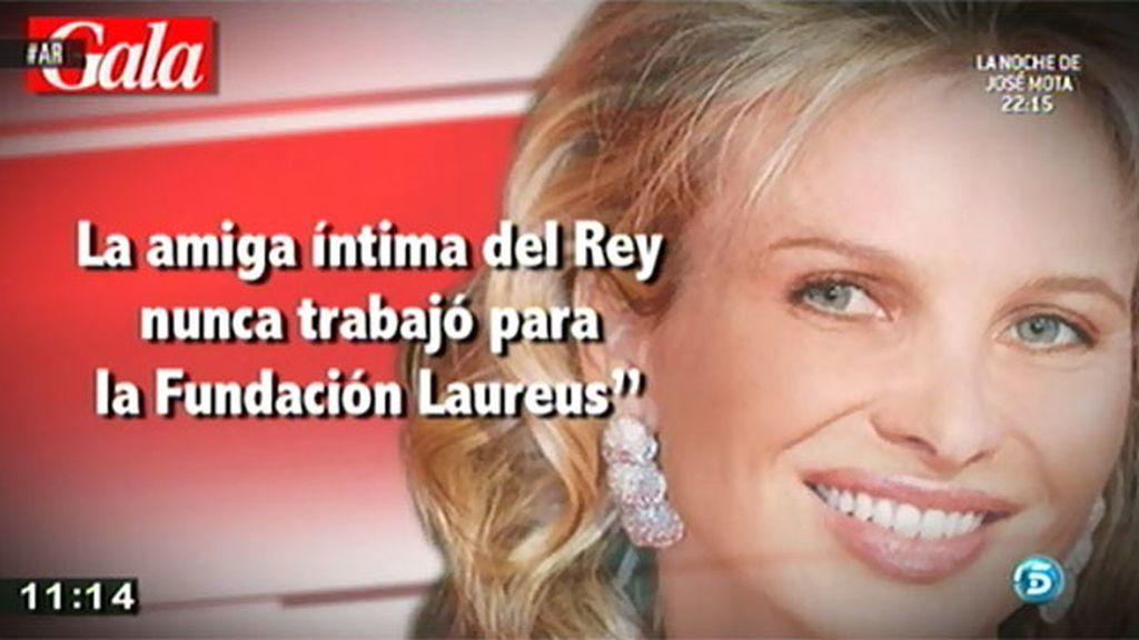 La Fundación Laureus desmiente que Corinna haya trabajado para ellos