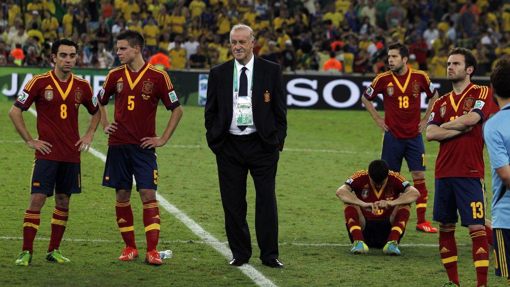 España, también sabe perder