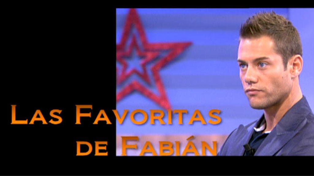 Las favoritas de Fabián