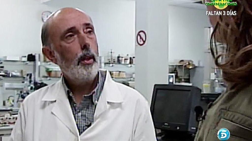 """Profesor Etxeberria: """"Si los huesos están en cal el nivel de preservación será bueno"""""""