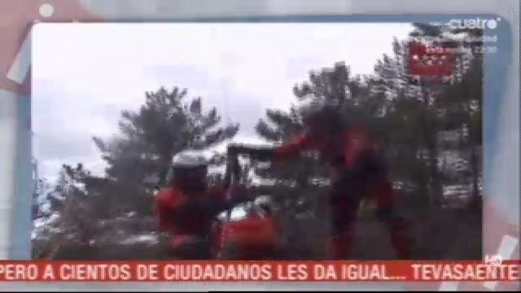 La sierra madrileña se queda sin el helicóptero de rescate