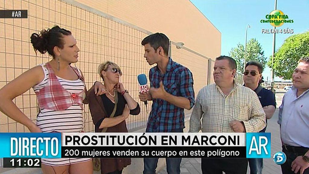 Los empresarios de Marconi se quejan por la presencia de prostitutas
