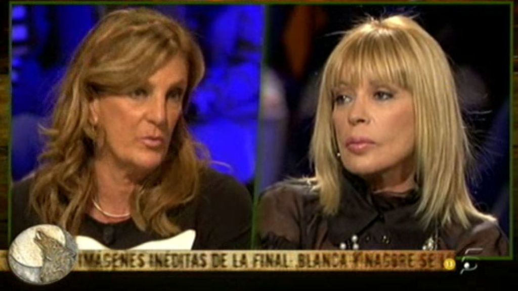 """Blanca, a Bárbara: """"Yo estoy definida desde pequeña, no como otras que no están definidas hasta los ochenta"""""""