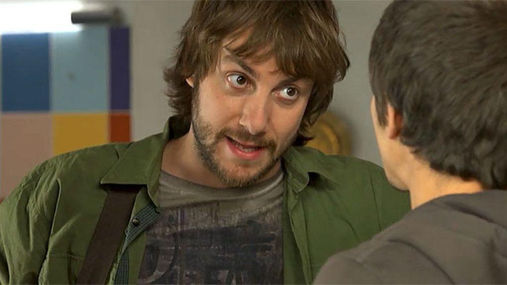 """Diego se asusta, Daniel le dice que ya sabe """"lo suyo"""""""