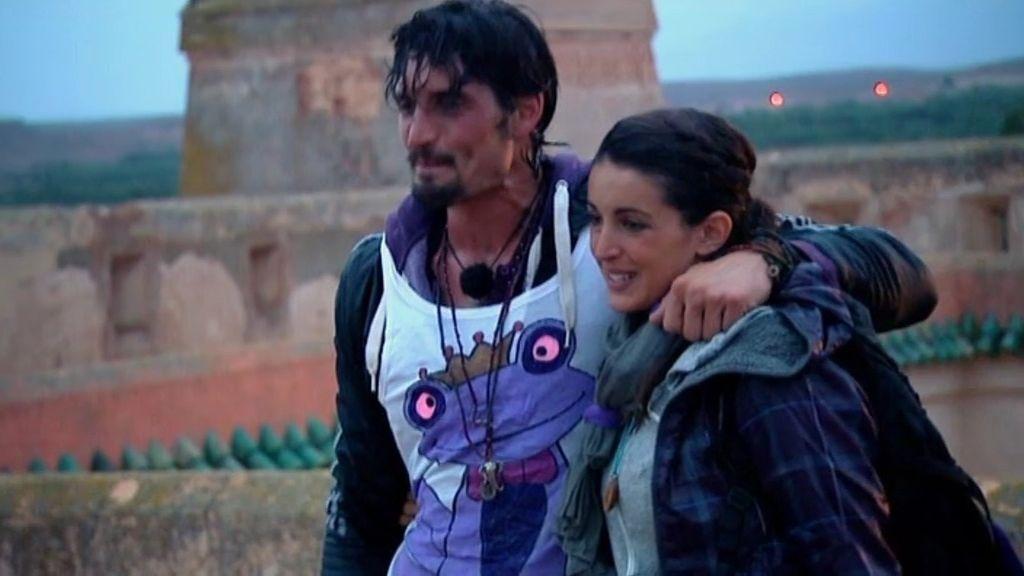 Felipe y Noelia, segundos finalistas de 'Expedición Imposible'