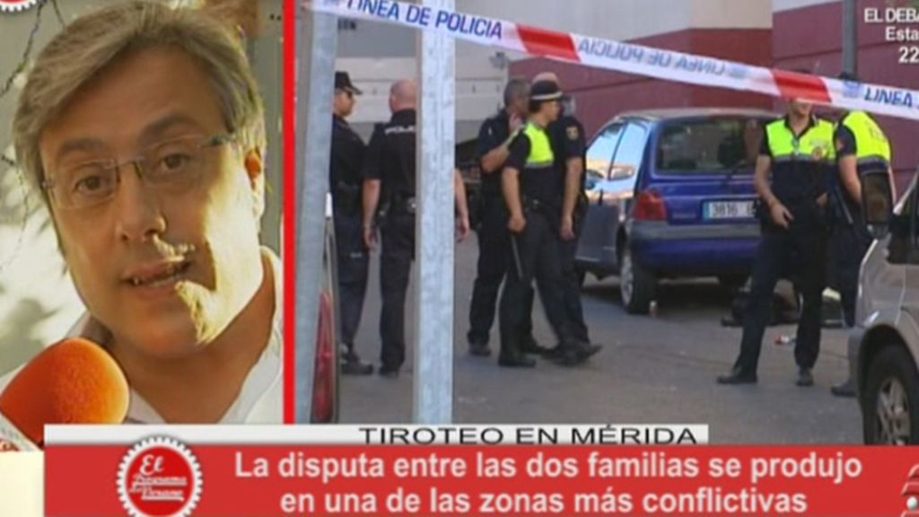 Tiroteo en plena calle en Mérida