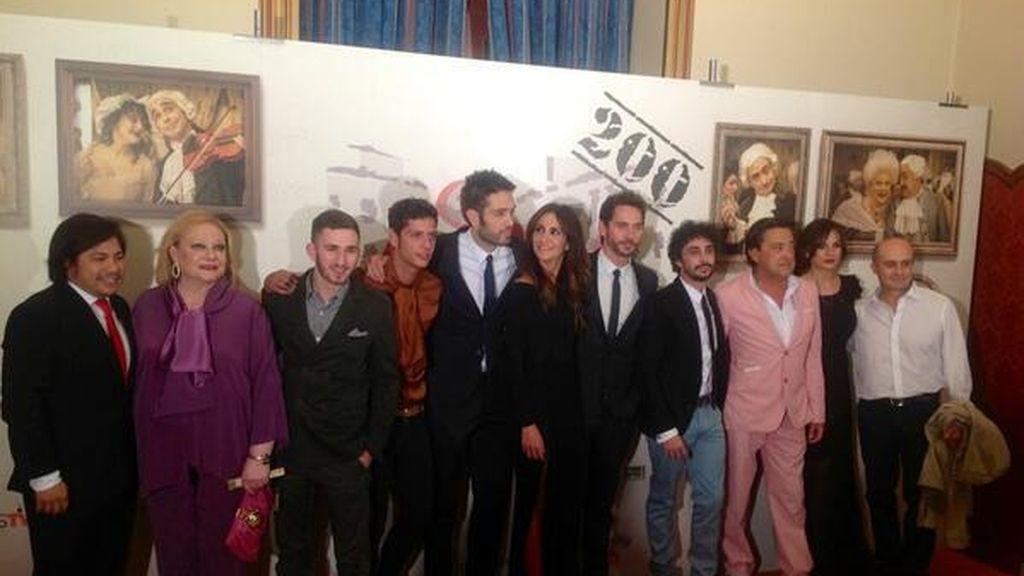 Los protas de Aída saltan al escenario del FesTVal de Vitoria para presentar la nueva temporada