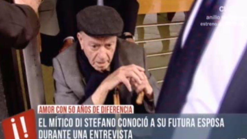 "Gina González, novia de Di Stéfano, a la salida de los juzagdos: ""Dios le va a ayudar"""