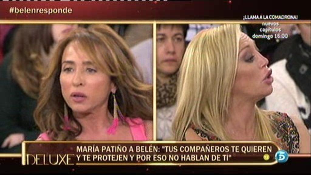 """María Patiño: """"Insisto en que Fran y Belén han dormido juntos"""""""