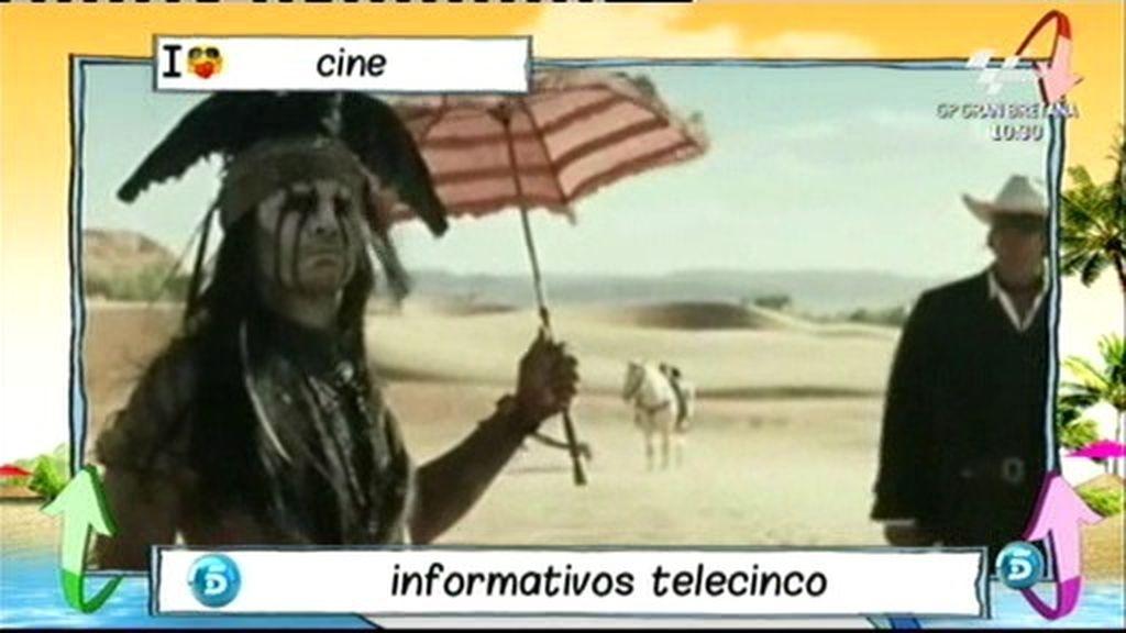 De Jack Sparrow al indio Tonto