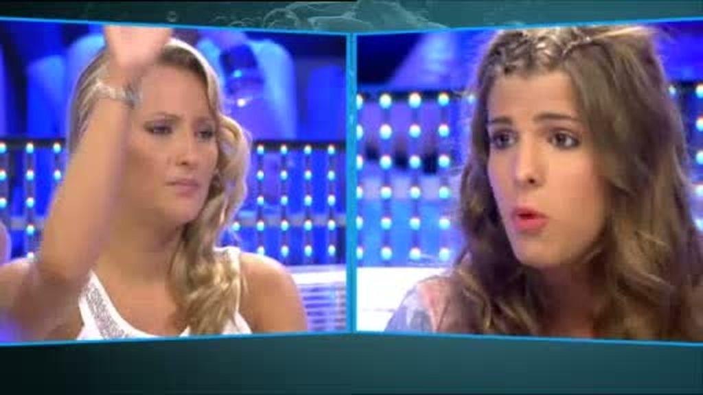 Carol defiende a Sonia ante Rosi