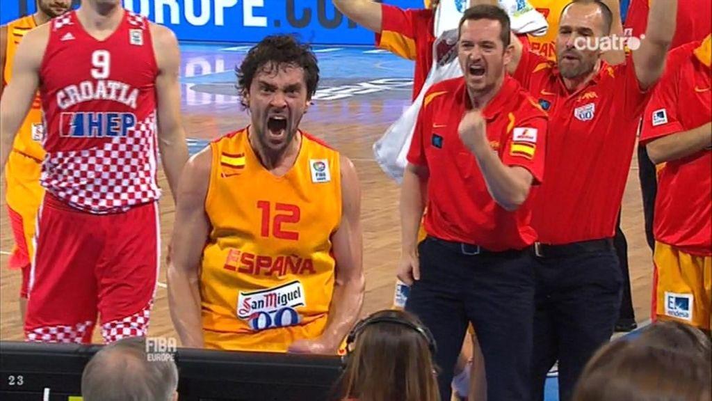Llull da la cara por España ante Croacia
