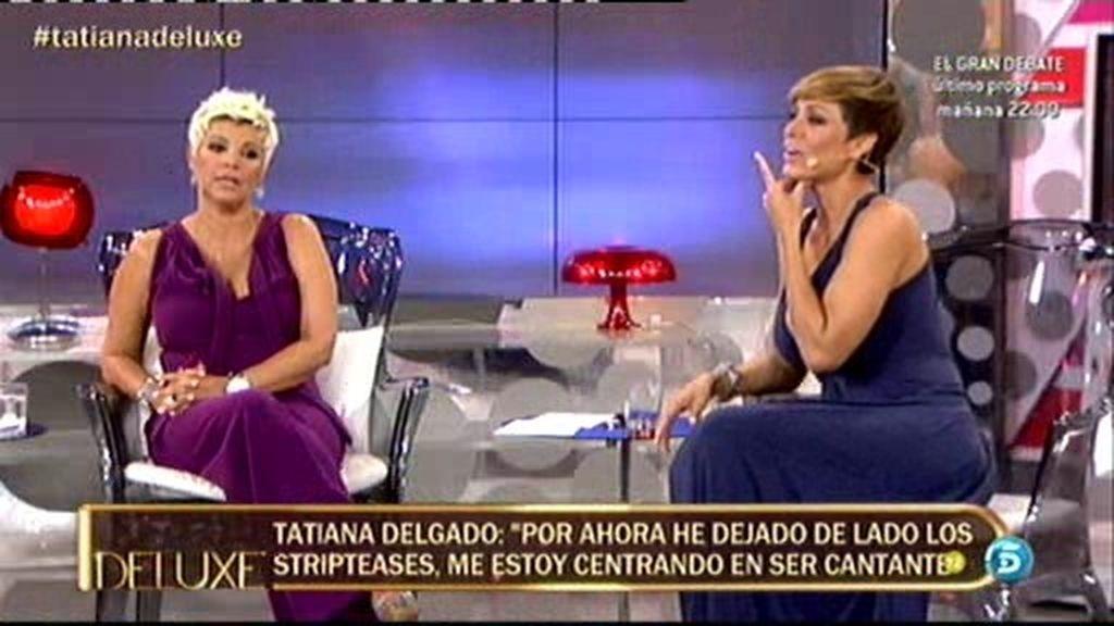 Tatiana se presenta como cantante