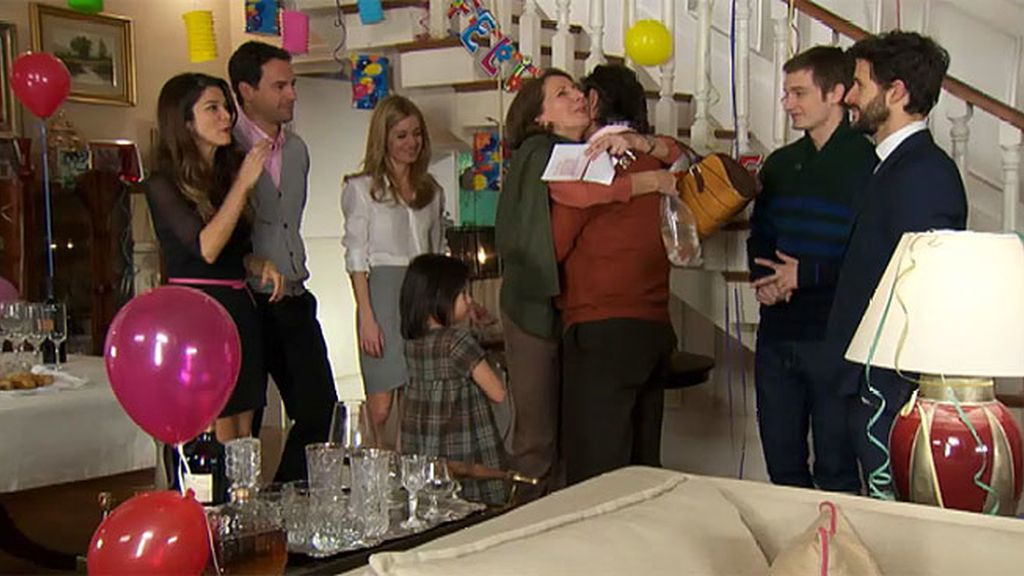 Una fiesta sorpresa que no lo es tanto...