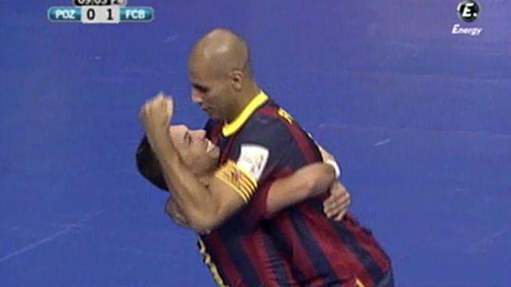 Gol de Fernandao (ElPozo 0-1 Barcelona)