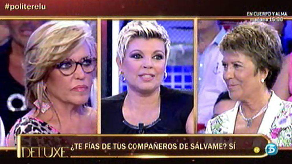 Terelu Campos se siente superior que algunos de su compañeros, según el polígrafo