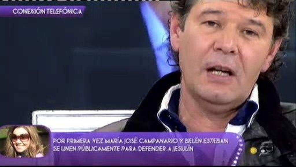 Campanario explica por qué Jesulín no renovó el contrato de Juan Currín