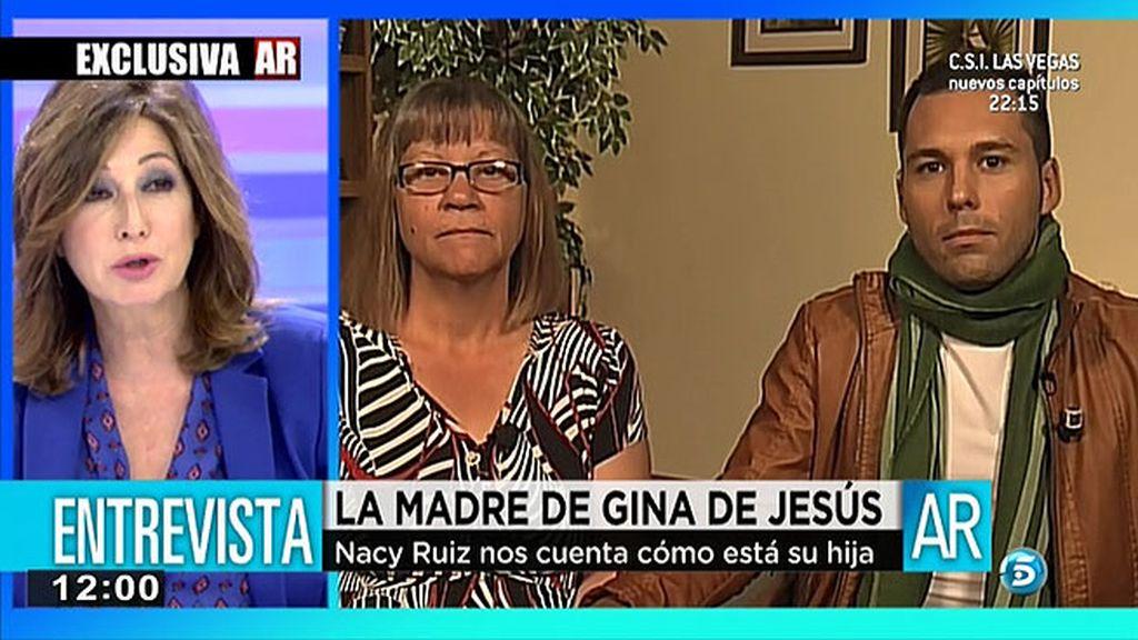 """Nancy Ruiz, madre de Gina DeJesús: """"Para mí, cuando la vi seguía teniendo 14 años"""""""