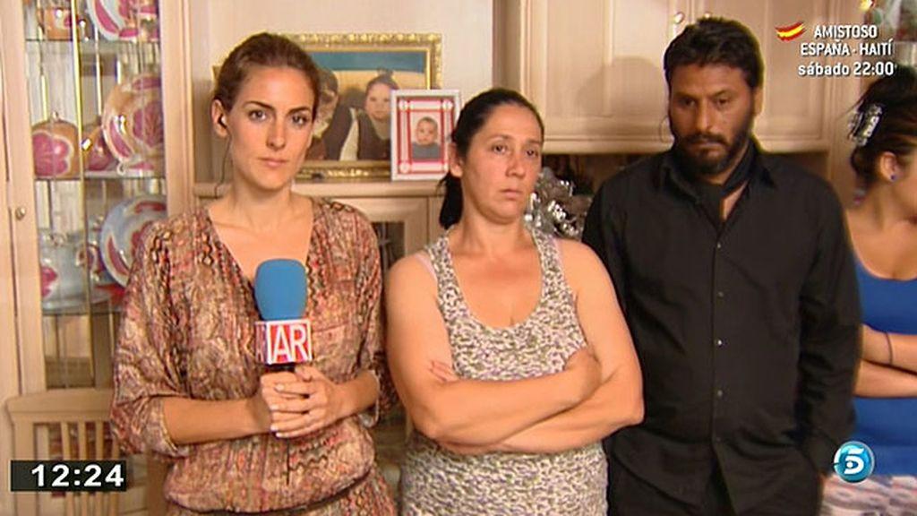 Carmen está a punto de ser desahuciada junto a su marido, sus cinco hijos y su nieto