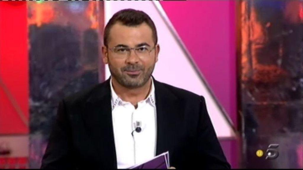 """Escassi: """"He tenido fantasías eróticas con Jorge Javier Vázquez"""""""
