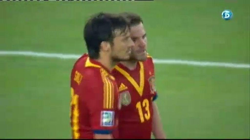 Gol: España 8-0 Tahití (Min.66)