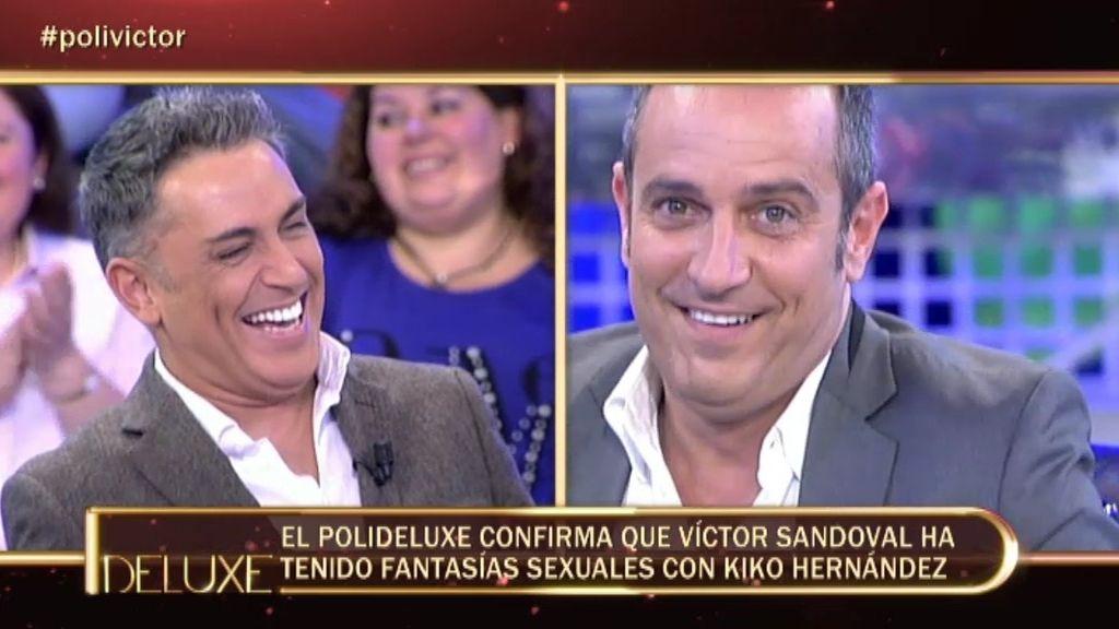 Sandoval ha tenido fantasías sexuales con Kiko Hernández