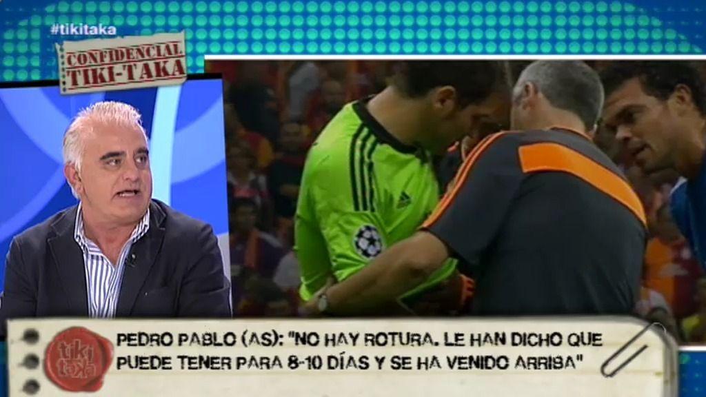 """Pedro P. San Martín: """"Casillas se siente solo y en el Real Madrid no le están ayudando"""""""