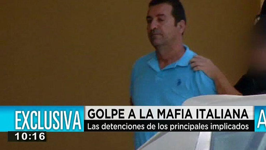 Golpe a la mafia italiana