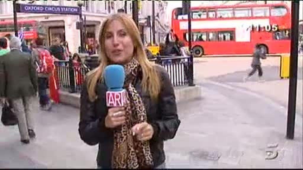 'AR' se desplaza a Londres