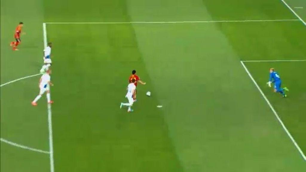 Gol: España 2-0 Holanda (min.32)