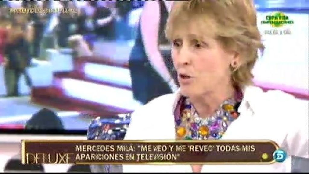 "Mercedes Milá: ""Fui expulsada de TVE porque era problemática"""