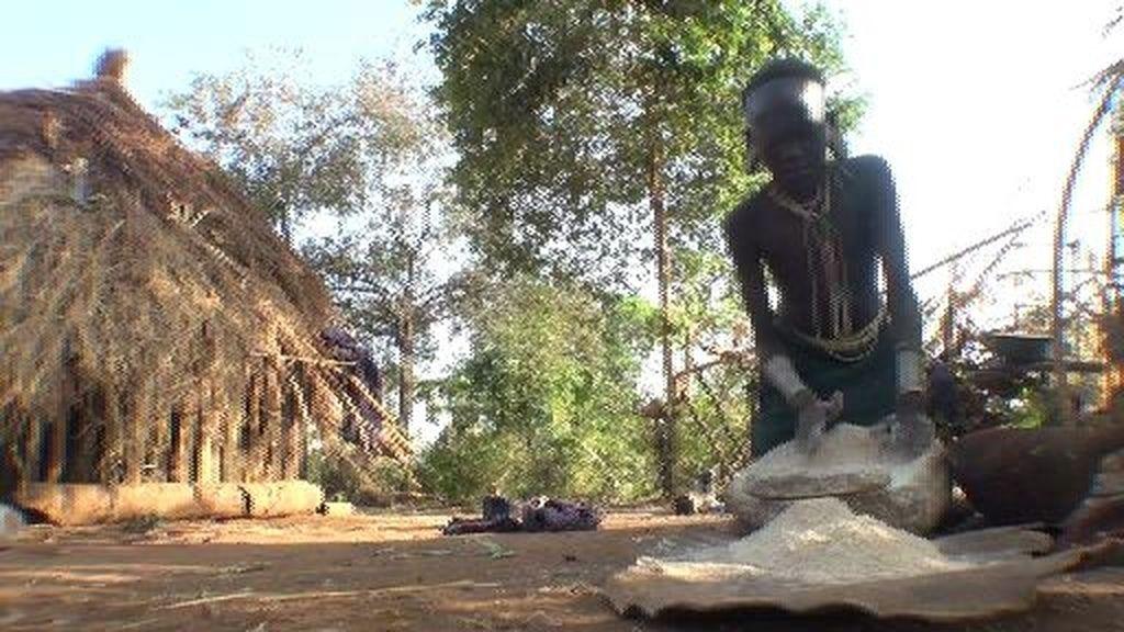 El trabajo de las mujeres Suri