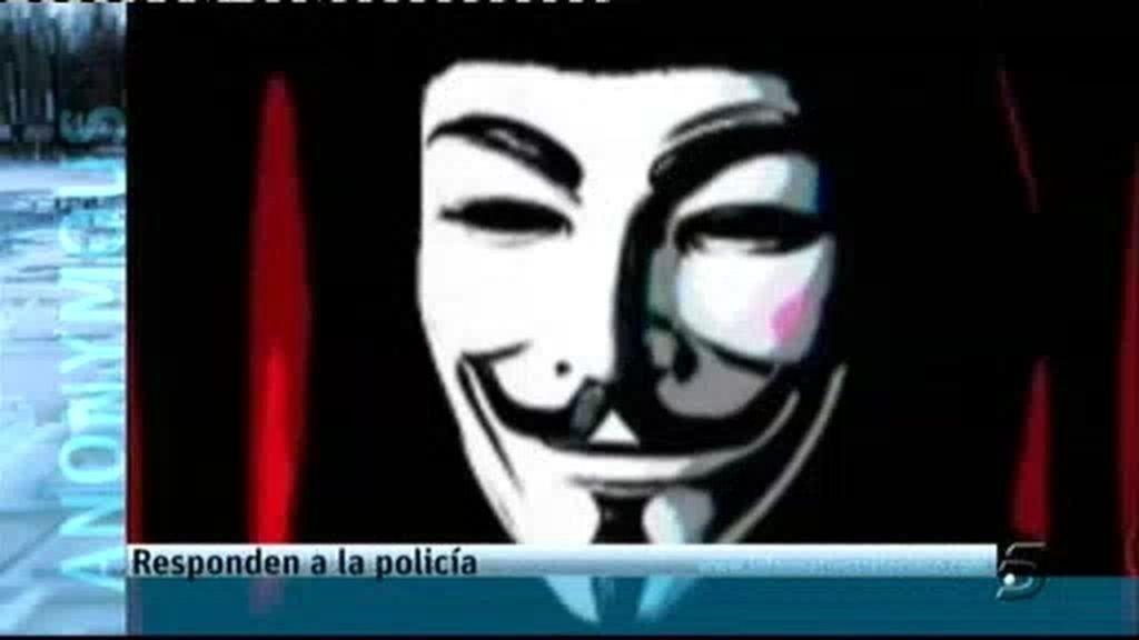 """Anonymous: """"La policía miente"""""""