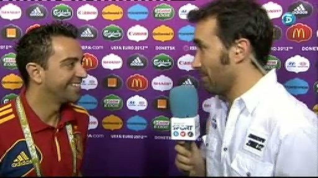 """Xavi: """"Notamos que nos tienen más respeto de lo habitual"""""""