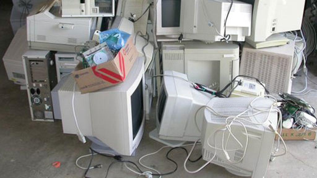 Los ordenadores se reciclan