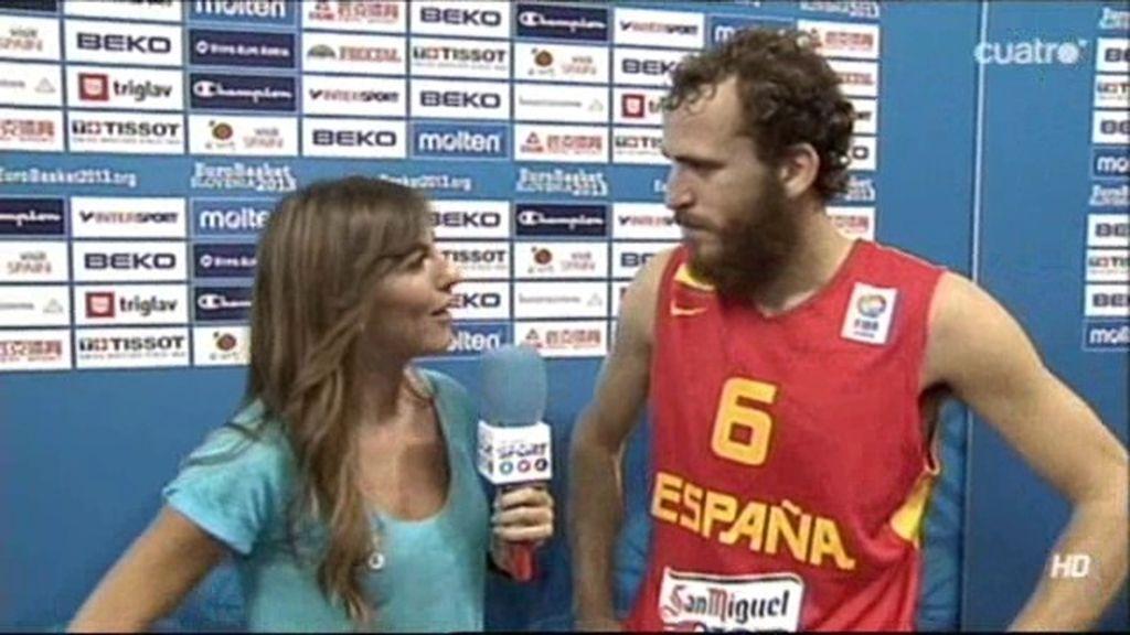 """Sergio Rodríguez: """"Estamos donde queríamos y queremos más"""""""