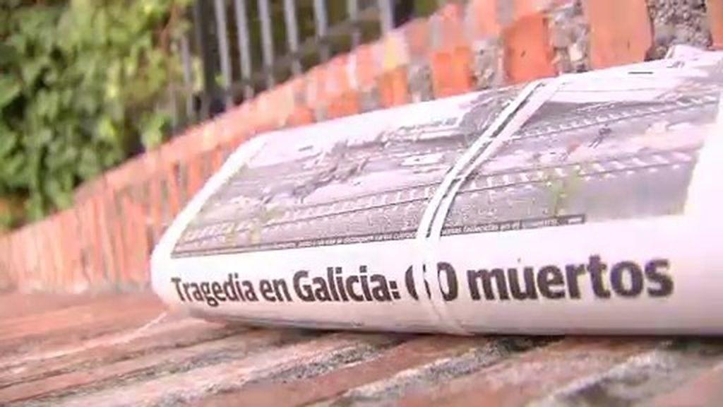 Luto en todas la estaciones ferroviarias de España por el accidente de Santiago