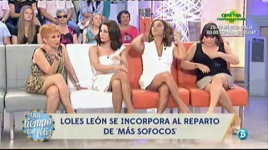 Loles León se incorpora al reparto de 'Más sofocos'