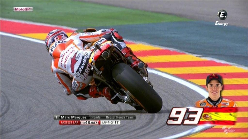 La FP2 de MotoGP en Aragón, a la carta