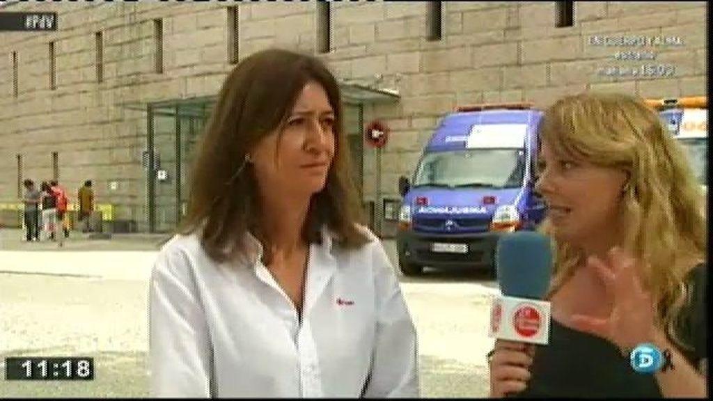 """Carmen Martín, Cruz Roja: """"Desde el principio se ha hecho un proceso de acompañamiento y apoyo socio-psicológico"""""""