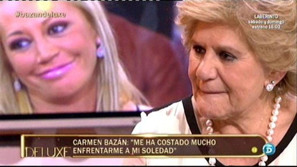 """Carmen Bazán: """"Hacía años que no sonreía"""""""